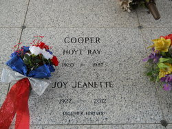 Joy Jeanette <i>Buchanan</i> Cooper