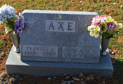Anna M <i>Griner</i> Axe