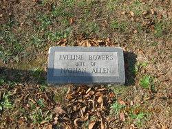 Lucretia Eveline <i>Bowers</i> Allen