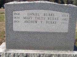 Mary <i>Talty</i> Burke