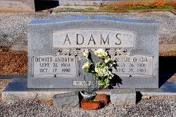 Bessie Ouida <i>Hill</i> Adams