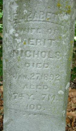 Elizabeth <i>Brown</i> Nichols