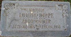 Louise <i>Deppe</i> Alexander