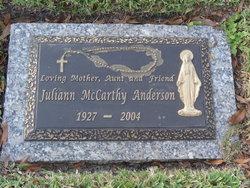Juliann McCarthy Anderson