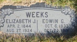 Elizabeth Jane <i>Hadlock</i> Weeks