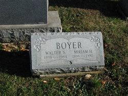 Walter S. Boyer