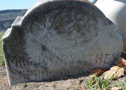 Mary <i>Hicks</i> Athey