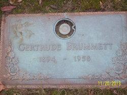 Gertrude C <i>Brown</i> Brummett