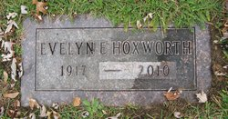 Evelyn E. <i>Wood</i> Hoxworth
