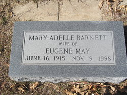 Mary Adelle <i>Barnett</i> May