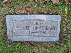 Mildred H Hoferkamp
