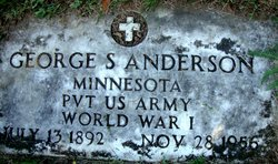 GEORGE S ANDERSON