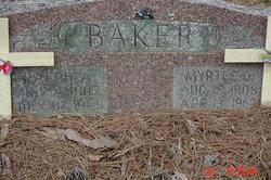 Myrtle D. Baker