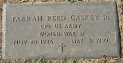 Farrah Reed Caskey, Sr