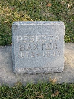 Frances Rebecca <i>Stubbs</i> Baxter