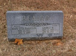 Mary Etta <i>Harrison</i> Beaird