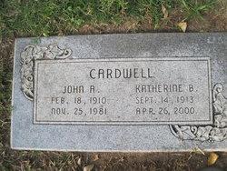 Katherine Harriett <i>Balch</i> Cardwell