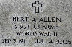 Bert Ancel Allen