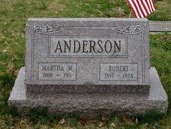 Martha M <i>Witmer</i> Anderson