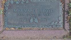 Maynard E Boyd