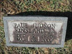 Paul Judson Kinsland, Jr