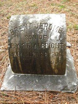 Brent Jerome Albright