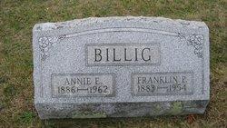 Annie Edna <i>Billman</i> Billig