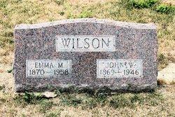 Emma <i>Bluhm</i> Wilson