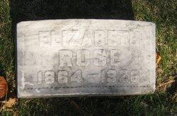 Elizabeth L Rose