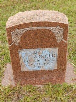 Sarah Frances <i>Miller</i> Arnold