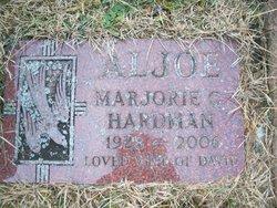 Marjorie <i>Hardman</i> Aljoe
