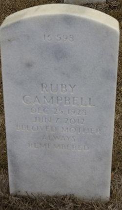 Ruby <i>Hamilton</i> Campbell