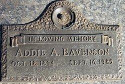 Addie <i>Arrington</i> Eavenson