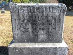 Lucy A <i>Simmons</i> Fairmon