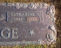 Catharine Niesz Cassie <i>Ward</i> George