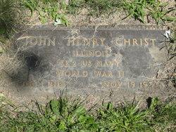 John Henry Christ, Jr
