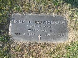 Ellis D Bartholomew
