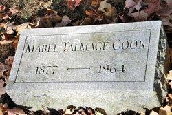 Mabel <i>Talmage</i> Cook