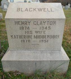 Henry Clayton Blackwell