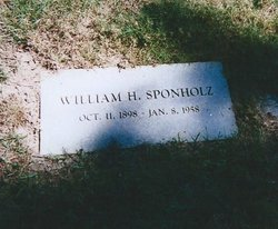 William H Sponholz