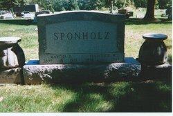 Martha P <i>Schlack</i> Sponholz