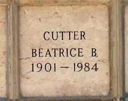 Beatrice B Cutter