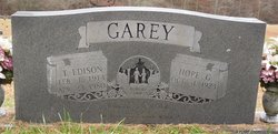 Thomas Edison Garey
