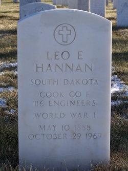 Leo E Hannan