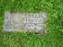 Anna E <i>Schleicher</i> Isham