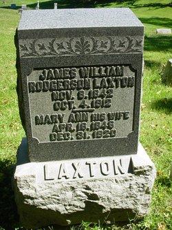 James William <i>Rodgerson</i> Laxton