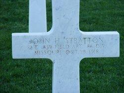 Pvt John Hillory Stratton