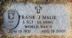 Frank J Malik
