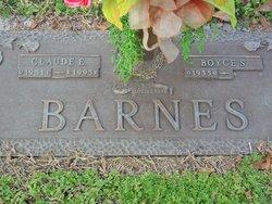Claude E Barnes