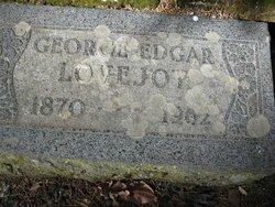 George Edgar Lovejoy